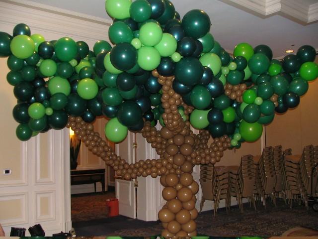 Деревья шары своими руками фото